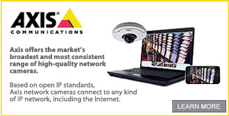 Click here to see more information about Axis IP cameras